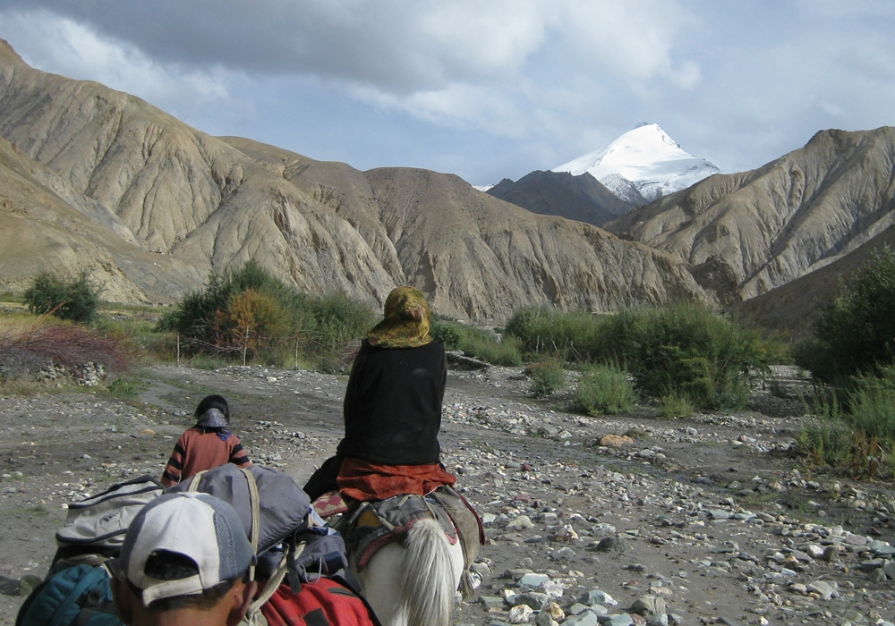 On the way to the Markha valley, Ladakh