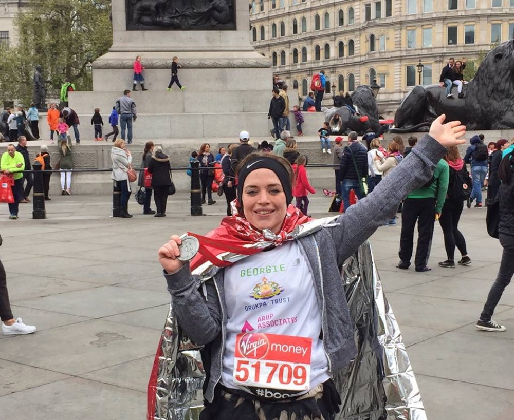 London Marathon completed - raising funds for the school.