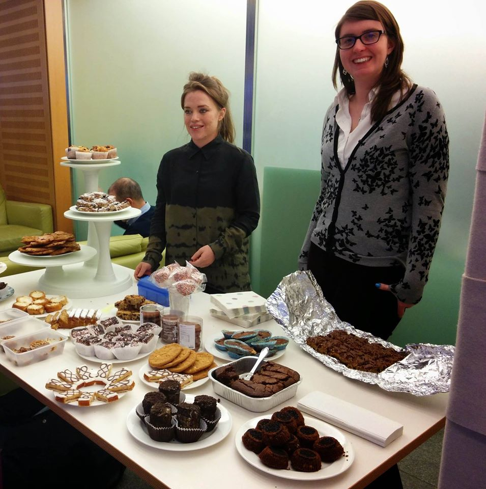 Cake sale for fundraising